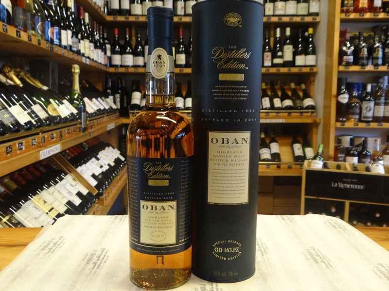 oban distillers edition whisky ecossais la vigneronne cave vente de vin toulouse. Black Bedroom Furniture Sets. Home Design Ideas
