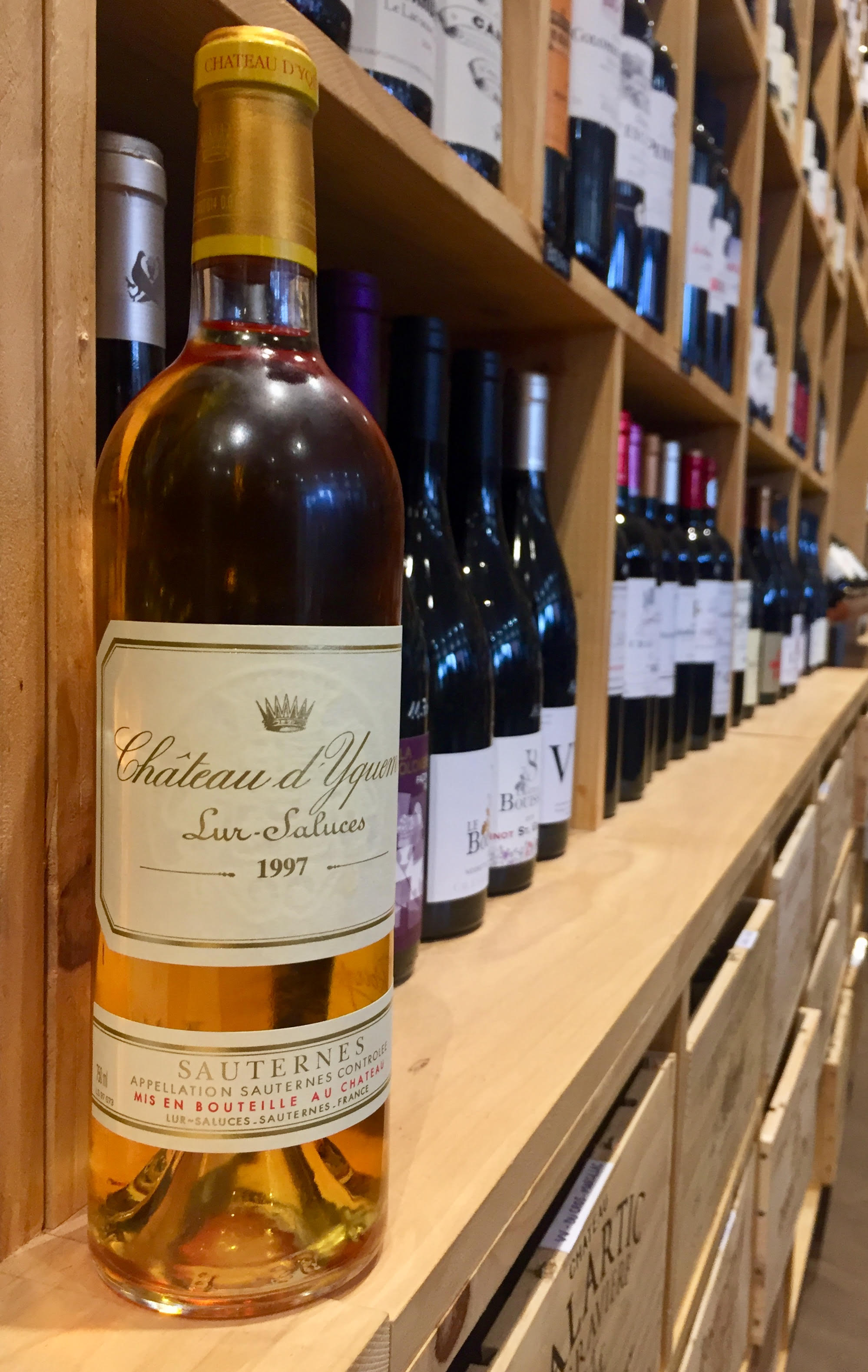 Le Sauternes, une appellation d'exception